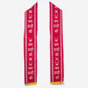 Rani Sati Dadi  Red Velvet Patti Pack of 100 Pieces