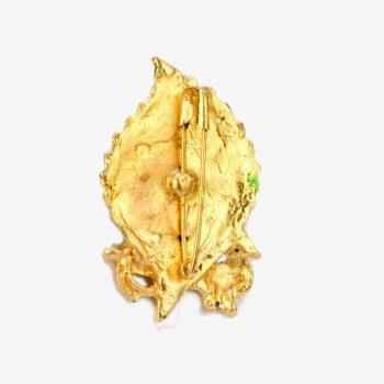Rani Sati Dadi Mor Pankh Shape Crystal Diamond Brooch Pack of 100 Pieces
