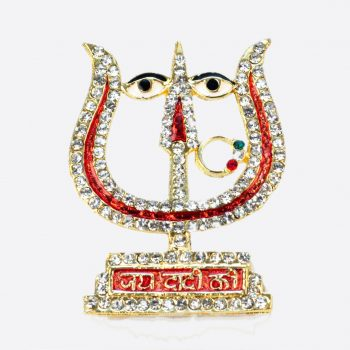 Rani Sati Dadi Trishul Shape Diamond Pendant Pack of 100 Pieces