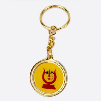 Rani Sati Dadi Round Shape Both Side Photo Key-chain Pack of 100 Pieces
