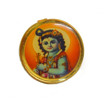 Krishna Round Shape Button Pack of 100 Pieces