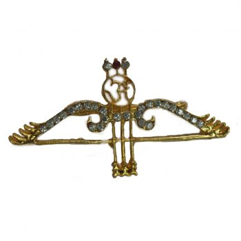 Khatu Shyam Dhanush Shape Brooch Pack of 100 Pieces
