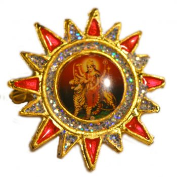 Durgaji Sun Shape Brooch Pack of 100 Pieces